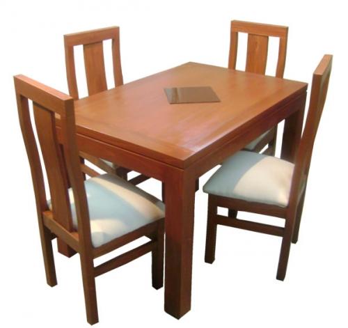 Comedor mesa rectangular 120x80 4 sillas   comedores dyp ...