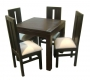 Comedor cuadrado 80X80 4 sillas