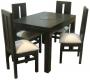 Comedor mesa rectangular 120X80 4 sillas